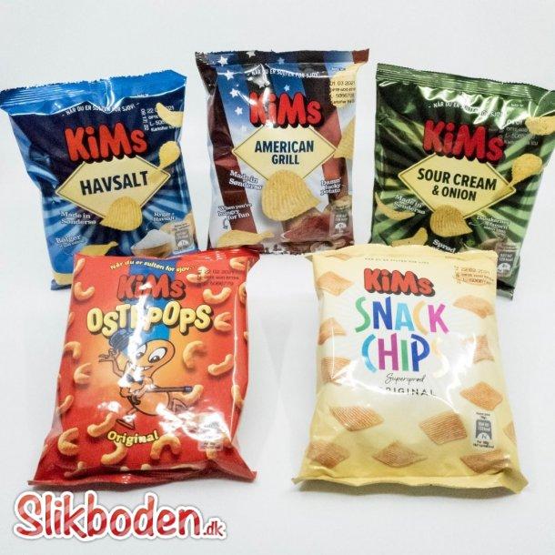 Storkøb Kims Chips miniposer 20 ks